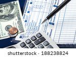 direct deposit is safe and...   Shutterstock . vector #188238824