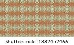ikat seamless pattern. border... | Shutterstock .eps vector #1882452466
