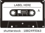 Vector Retro Tape Cassette In...