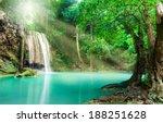 Blue Stream Waterfall In...