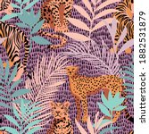 bright colorful tropical... | Shutterstock .eps vector #1882531879