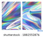 holographic film. abstract... | Shutterstock .eps vector #1882552876