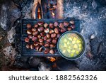 Roasting Chestnuts And Boiling...