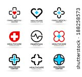 medicine and healthcare  4  | Shutterstock .eps vector #188258573