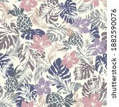seamless pattern of beautiful... | Shutterstock .eps vector #1882590076