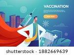 heroes doctors leader fighting... | Shutterstock .eps vector #1882669639