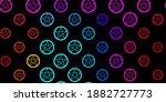 dark blue  red vector template... | Shutterstock .eps vector #1882727773