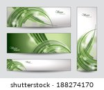 abstract vector banners or... | Shutterstock .eps vector #188274170