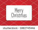 merry christmas and happy new...   Shutterstock .eps vector #1882745446