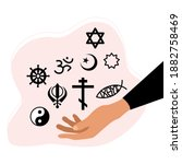religious freedom day poster... | Shutterstock .eps vector #1882758469