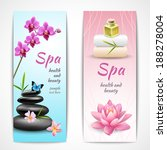 spa beauty health care vertical ... | Shutterstock .eps vector #188278004