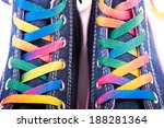 Closeup Of Sneakers With...