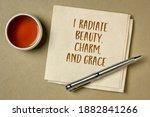 I Radiate Beauty  Charm And...