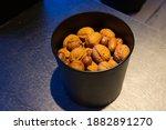 Bucket Of Walnuts As Seen In...