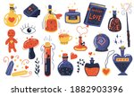 love potion. doodle magical... | Shutterstock .eps vector #1882903396