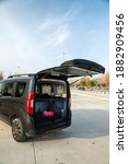 Small photo of Istanbul, Turkey - December 21 2020 : Fiat Doblo is a car produced by Fiat in two generations since 2000.