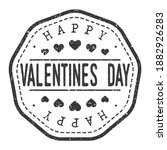 happy valentine's day love... | Shutterstock .eps vector #1882926283