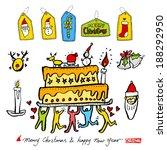 christmas poster | Shutterstock .eps vector #188292950