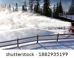 Snow Cannons  Snowmaking Of Ski ...