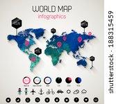 set elements of infographics.... | Shutterstock .eps vector #188315459