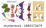 princess  fairy godmother  an... | Shutterstock .eps vector #1883172679