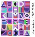 multicolored decorative... | Shutterstock . vector #1883182000