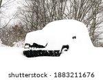 Jeep Cherokee Buried Under Snow ...
