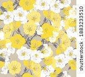 elegant seamless pattern with...   Shutterstock .eps vector #1883233510