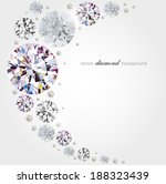 abstract background with... | Shutterstock .eps vector #188323439