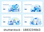 bookkeeper web banner or... | Shutterstock .eps vector #1883234863