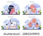 otorhinolaryngologist concept...   Shutterstock .eps vector #1883249893