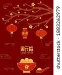 lantern festival  sweet...   Shutterstock .eps vector #1883262979