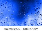 water drop texture   abstract... | Shutterstock . vector #188327309