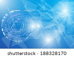 abstract global infinity... | Shutterstock .eps vector #188328170