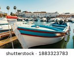 Old Town Of Faro With...