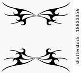 tribal tattoo | Shutterstock .eps vector #18833356