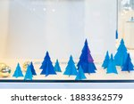 christmas decorations with day... | Shutterstock . vector #1883362579