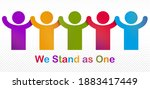 worldwide people global society ...   Shutterstock .eps vector #1883417449