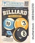 Billiard Tournament Poster...
