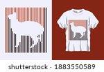 inverted silhouette of side...   Shutterstock .eps vector #1883550589