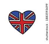 england flag doodle icon ...   Shutterstock .eps vector #1883593699