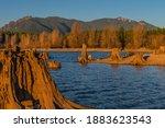 Rattlesnake Lake With Exposed...