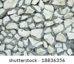 a stone wall great as a background - stock photo