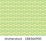 green repeating square pattern... | Shutterstock .eps vector #188366900