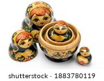 Traditional Russian Doll On...