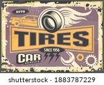 tires and vulcanize service old ... | Shutterstock .eps vector #1883787229