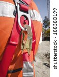 safety harness close up view of ... | Shutterstock . vector #188380199