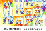 colorful abstract background.... | Shutterstock . vector #1883871976