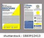 business brochure design....   Shutterstock .eps vector #1883912413