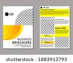 banner business brochure...   Shutterstock .eps vector #1883913793